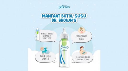 Manfaat Botol Susu Dr. Brown's