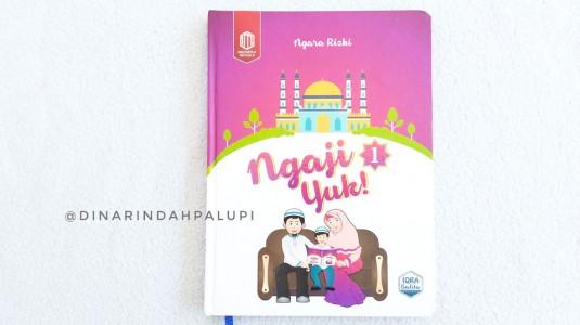 Review Buku Iqra Balita Jilid 1 - Buku Pembelajaran Membaca Al Quran untuk Balita
