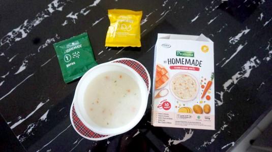 Review Promina Bubur Instan Homemade