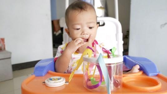 Sensory Play for Baby: Sensory Ribbon Jar