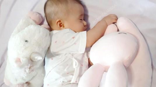 Bayiku Tidur Lebih Nyenyak Berkat Chamomile Oil