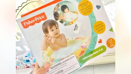 Portable Infant Bathub: Solusi Mandi untuk Bayi saat Travelling