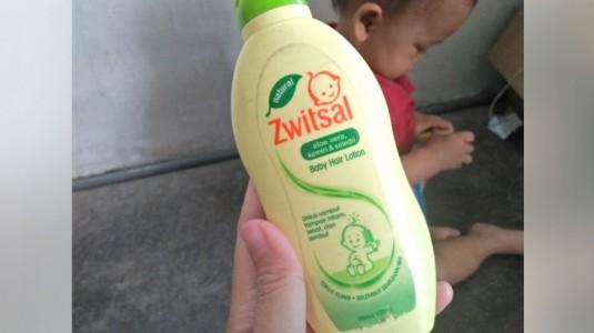 Review Zwitsal Hair Lotion, Rambut Tebal Mengkilat!