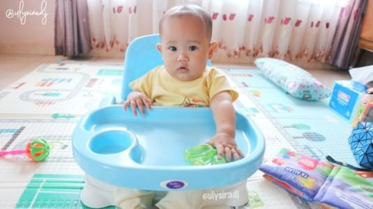 Baby Booster Seat, Salah Satu Pilihan Kursi Makan Anak Saat Mulai MPASI