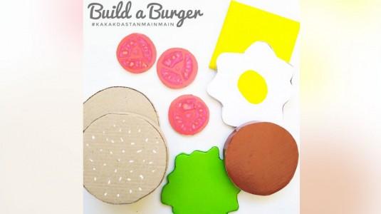 Ide Bermain Anak - Build a Burger