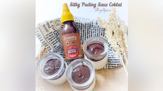 Silky Puding Saus Cokelat: Camilan MPASI 12 M+