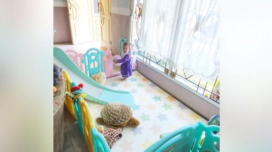 Ibebe Fence dan Slide Pilihan untuk Ruang Bermain Anakku