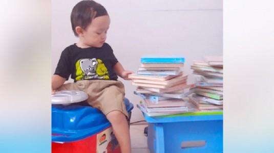 Baca Buku Little Abid - Balita Cerdas dan Soleh