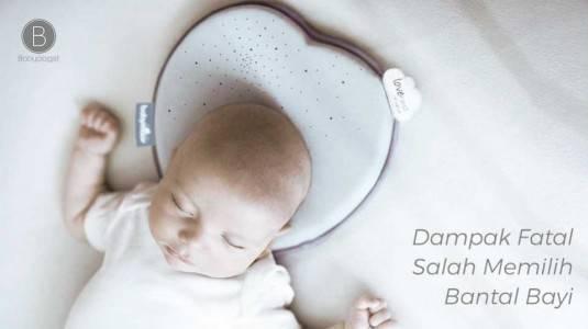 Dampak Fatal Salah Memilih Bantal Bayi