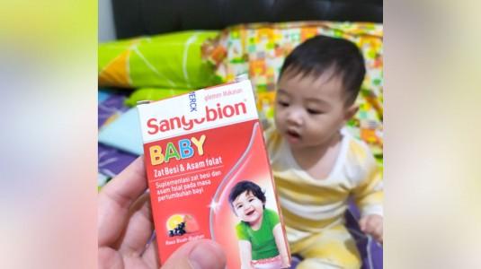 Suplemen Zat Besi untuk Bayi: Sangobion Baby
