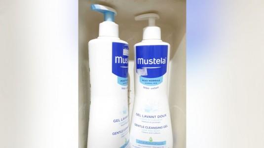 Mustela Gentle Cleansing Gel Hair and Body Wash untuk Kulit Kering dan Eczema