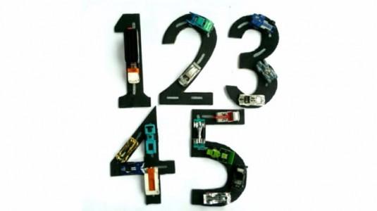 Ide Bermain 2Y+: Number Road