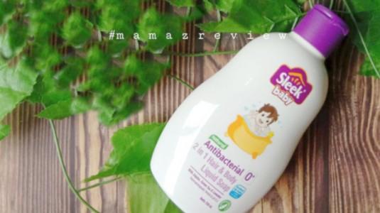 Review Sleek Baby 2 in 1 Hair & Body Liquid Soap