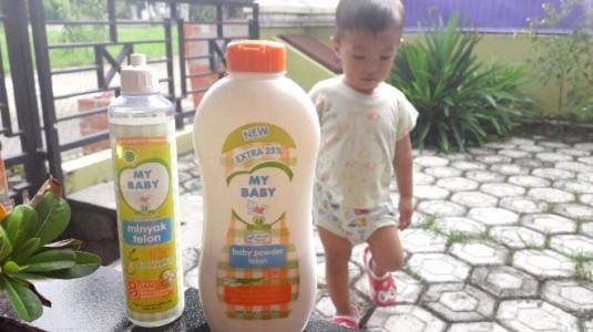 Review My Baby Telon dan Baby Powder Telon: Paket Pelindung Nyamuk