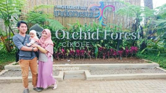Keseruan si Kecil Belajar Mengenal Binatang di Orchid Forest Cikole, Bandung