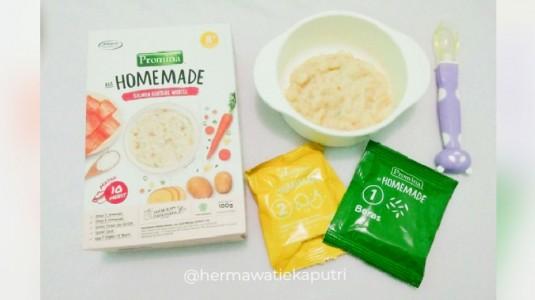 Review : Promina Homemade Salmon Kentang Wortel (8+)
