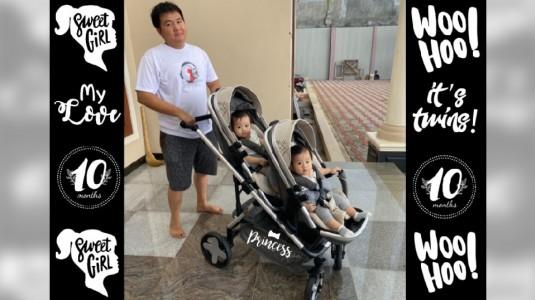 Tips Memilih Stroller yang Tepat untuk Bayi Kembar