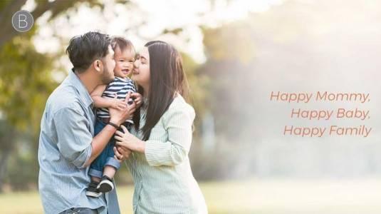 Happy Mommy, Happy Baby, Happy Family