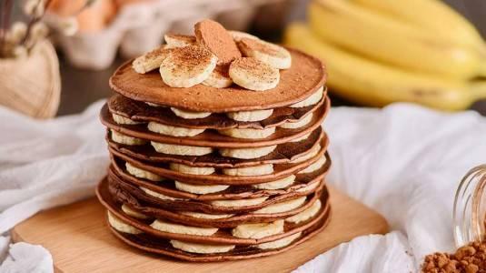 Banana Chocolate Pancake