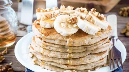Banana Oat Pancake (11M+)