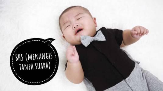 Bahayakah Bayi Menangis Tanpa Suara?