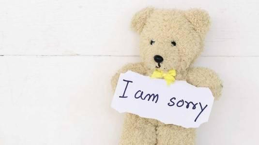 Tepatkah Mengajarkan Anak Meminta Maaf Setelah Melakukan Kesalahan?
