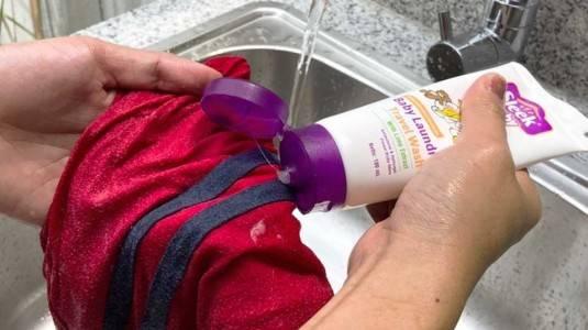 Perlukah Membawa Baby Laundry Wash Saat Traveling?