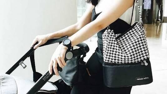 Review: Cooler Bag Natural Moms Houndstooth Tote Bag