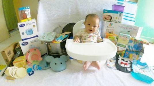 Persiapan MPASI Baby Alfa