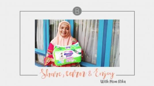 Share, Earn & Enjoy with Mom Rika