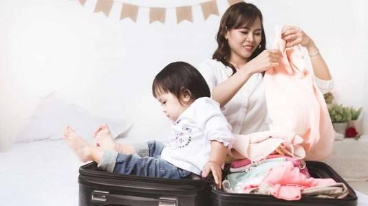 Tips Traveling bersama si Kecil
