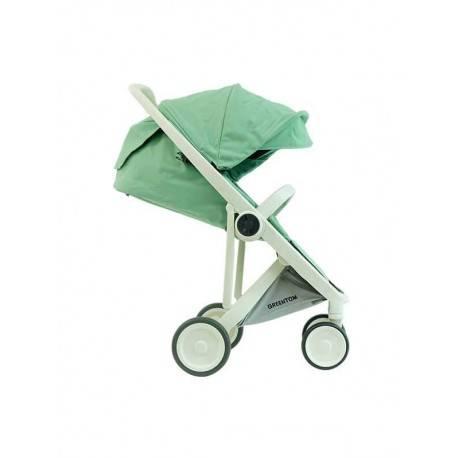 Toddler Edition (6+month seat) White Frame Grey Basket