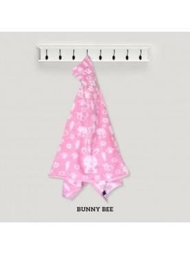 Hooded Bunny Bee Pink