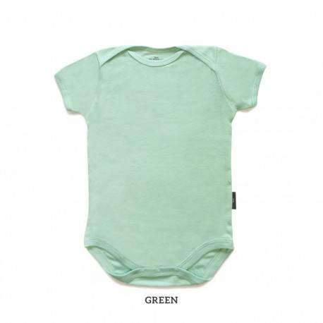 Green Baby Bodysuit Short Sleeve (jumper)