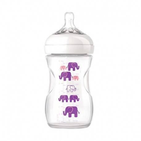 Natural Bottle Elephant Girl 260ml