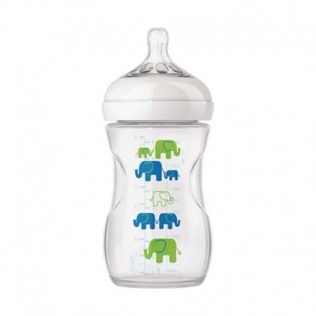 Natural Bottle Elephant Boy 260ml