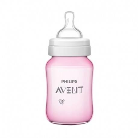 Classic Plus Deco Bottle Pink 260ml