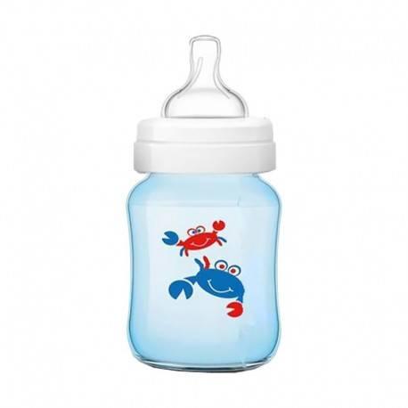 Classic Plus Deco Bottle Blue Crab 260ml