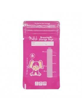 Breast Milk Bags Pink