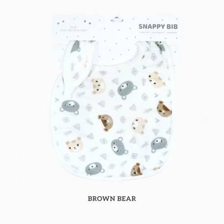 Zoo Snappy Bib