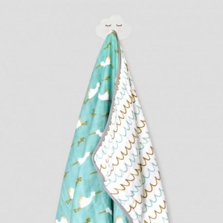 Dreamy Stork Snuggly Blanket (Tosca)