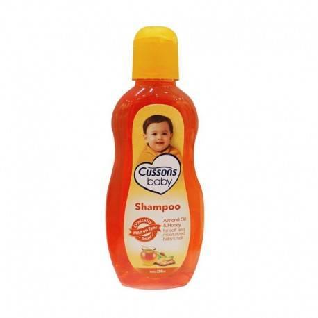 Almond Oil & Honey Shampoo [200 mL]