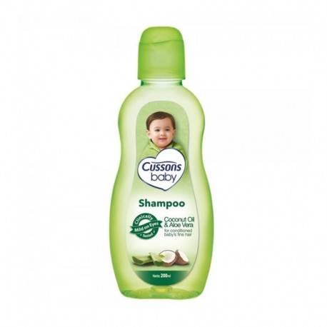 Coconut Oil & Aloe Vera Shampoo [200 mL]