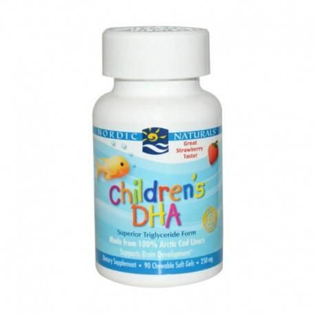 Children's DHA Strawberry Multivitamin & Suplemen [90 Soft Gels]