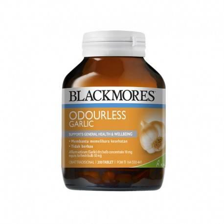 Odourless Garlic Suplemen [200 Tablets]