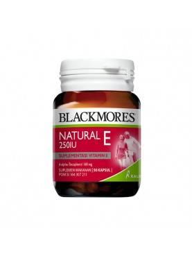 Natural E 250 IU Suplemen Kesehatan [50 Capsul]
