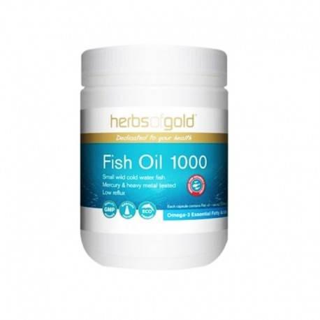 Premium Fish Oil Suplemen Kesehatan [200 Capsul]