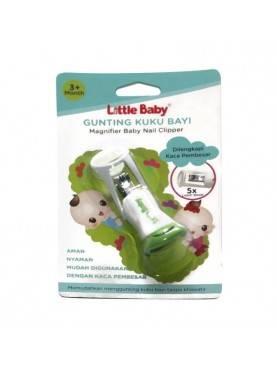 Gunting Kuku Bayi Dengan Kaca Pembesar Brand: Little Baby