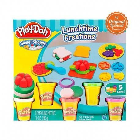 Play Doh Lunchtime Creation Mainan Clay dan Dough
