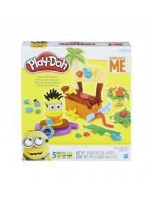 Play Doh B9028 Minions Paradise Mainan Anak